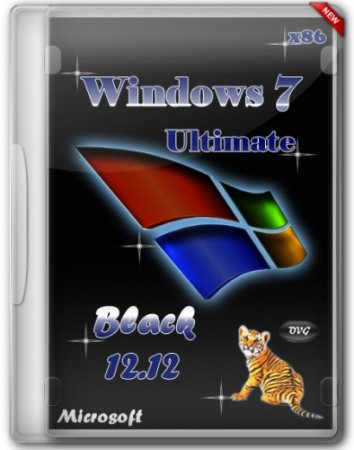 Windows 7 Ultimate SP1 x86 Black by OVGorskiy® v.12.12