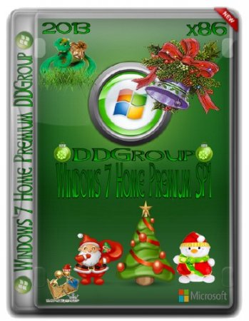 Windows 7 SP1 Home Premium x86 DDGroup [v.2]