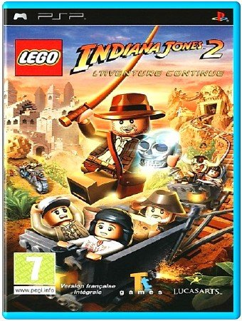LEGO Indiana Jones 2 The Adventure Continues (2009) (ENG) (PSP)