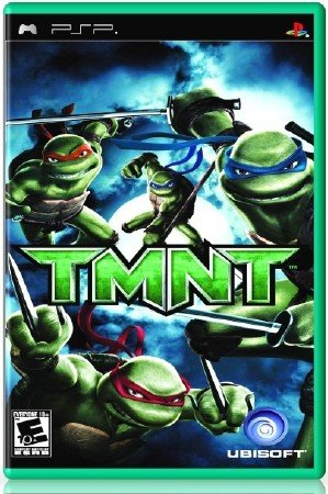 TMNT Teenage Mutant Ninja Turtles (2009) (RUS) (PSP)