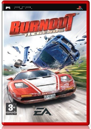 Burnout Legends (2005) (RUS) (PSP)
