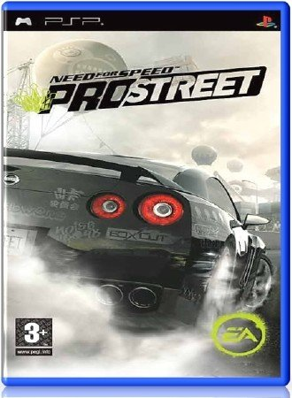 Need for Speed ProStreet (2008) (RUS) (PSP)