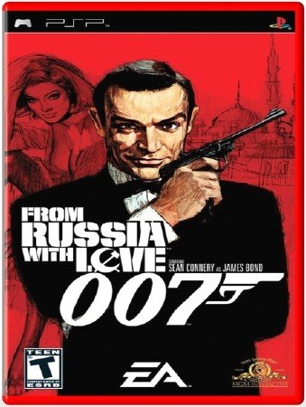 From Russia with Love 007 (2006) (RUS) (PSP)