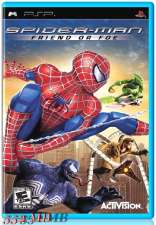 Spider-Man Friend or Foe (2007) (ENG) (PSP)