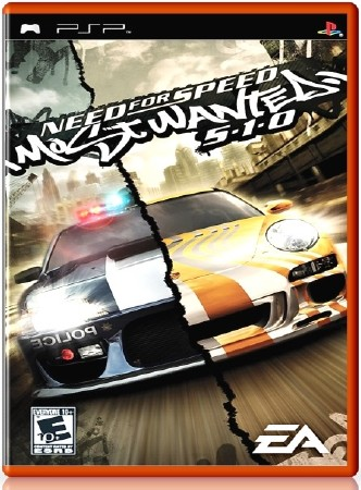 Need for Speed Most Wanted 5-1-0 (2006) (RUS) (PSP)