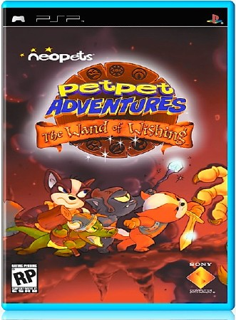 Neopets Petpet Adventures The Wand of Wishing  (2006) (ENG) (PSP)