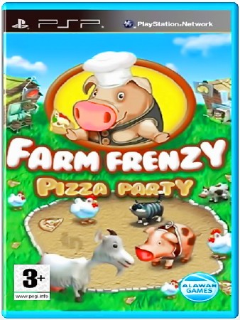 Farm Frenzy Pizza Party (2012) (RUS) (PSP)