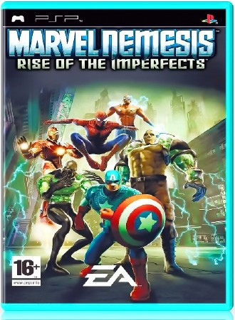 Marvel Nemesis: Rise of the Imperfects (2006) (ENG) (PSP)