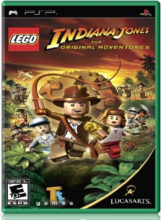 LEGO Indiana Jones The Original Adventures (2008) (RUS) (PSP)