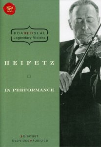 Играет Яша Хейфец / Heifetz. In Performance (1971) DVDRip