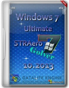 Windows 7 Ultimate SP1 32 bit+64 bit Golver (2013)