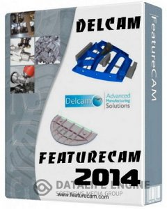 Delcam FeatureCam 2014 R2 v20.4.1.26 (x32-x64) By R.G. Инженеры